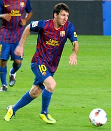 Messi em jogo contra o Osasuna. 114d47e06c0a1