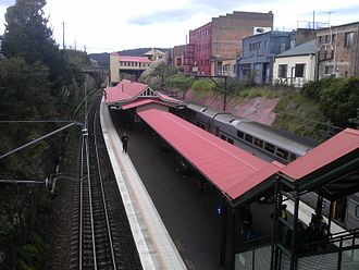 Lithgow railway station - Platforms of the Lithgow railway station