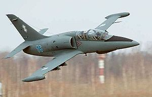 Lithuanian Armed Forces - Lithuanian Air Force jet trainer Aero L-39ZA