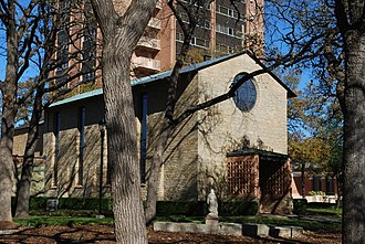 Texas Woman's University - Little Chapel in the Woods, Texas Woman's University, Denton