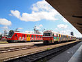 Ljubljana train station - trains 2.jpg