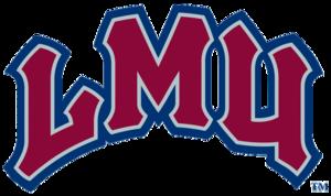 Loyola Marymount Lions men's basketball - Image: Lmu lions textlogo