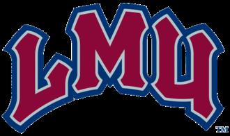 Loyola Marymount Lions - Image: Lmu lions textlogo