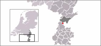 Nieuwstadt - Image: Locatie Nieuwstadt