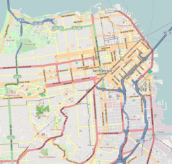 Fillmore District, San Francisco is located in San Francisco