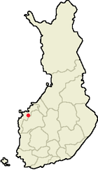 Location of Vöyri in Finland.png