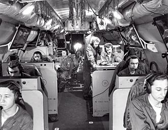 Lockheed EC-121 Warning Star - Radar operators in an USAF EC-121D/T.