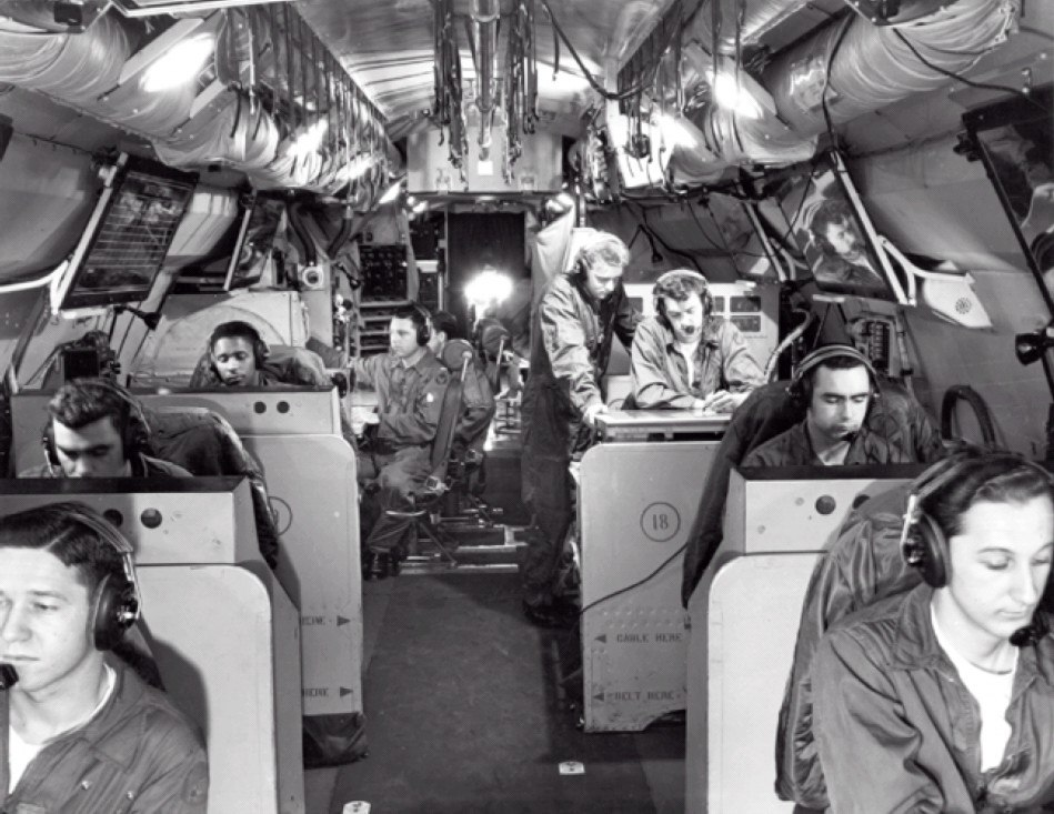 Lockheed EC-121D interior