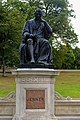 London - Kensington Gardens - Italian Gardens - Statue of Dr. Edward Jenner 1862 by William Calder Marshall, RA.jpg