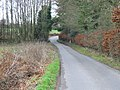 Looking SW along Moorstock Lane - geograph.org.uk - 643727.jpg