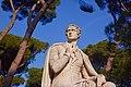 Lord Byron Statue, Villa Borghese (32619006288).jpg