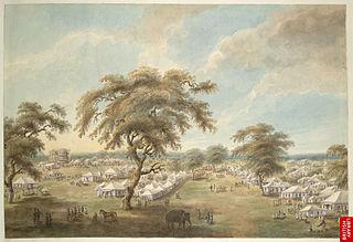 Moradabad City in Uttar Pradesh, India