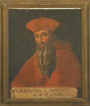 Lorenzo Campeggio - Image: Lorenzo Campeggio