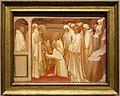 Lorenzo monaco, san benedetto ammette santi nell'ordine, 1407-09, forse dalla pala di s. benedetto fuori porta a pinti.jpg