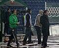 Lothar Matthäus in frendly mach Bulgaria-Serbia.JPG