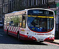Lothian Buses guided bus Volvo B7RLE Wrightbus Eclipse Urban Route 22 April 2005.jpg