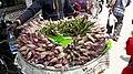 Lotus at Malleswaram vegetable market, Bangalore.jpg