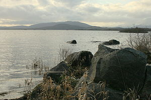 Nephin Beg Range - Nephin and its range from Lough Cullin