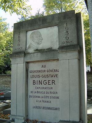 Louis-Gustave Binger - Montparnasse/Paris