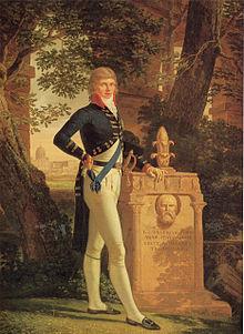 Porträt aus dem Jahr 1793 von Louis Gauffier (Quelle: Wikimedia)