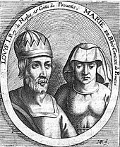 Photo de Louis Ier d'Anjou et Marie de Blois