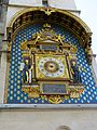 Lovely clock on a street corner, Paris 18 April 2015.jpg