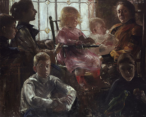 Lovis Corinth - Familie Rumpf - Google Art Project