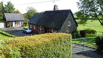 Listed buildings in Alberbury with Cardeston - Image: Lower Bulthy Cottage