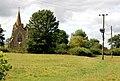 Lower Shuckburgh church and power poles - geograph.org.uk - 1425919.jpg