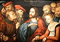 Lucas Cranach the Elder - Christ and the Adulteress (Museum of Fine Arts, Budapest).jpg