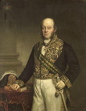 Ludolph Anne Jan Wilt Sloet van de Beele - Image: Ludolph Anne Jan Wilt Baron Sloet van de Beele (1806 90). Gouverneur generaal (1861 66) Rijksmuseum SK A 3805