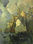 Ludwig Dill - Boote im Hafen.jpg