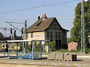 Ludwigslust station - Former goods dispatch