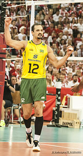 Luiz Felipe Fonteles Brazilian volleyball player