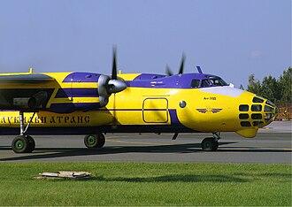 Antonov An-30 - Lukaviatrans An-30A