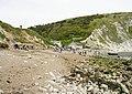 Lulworth Cove Beach - geograph.org.uk - 1355805.jpg