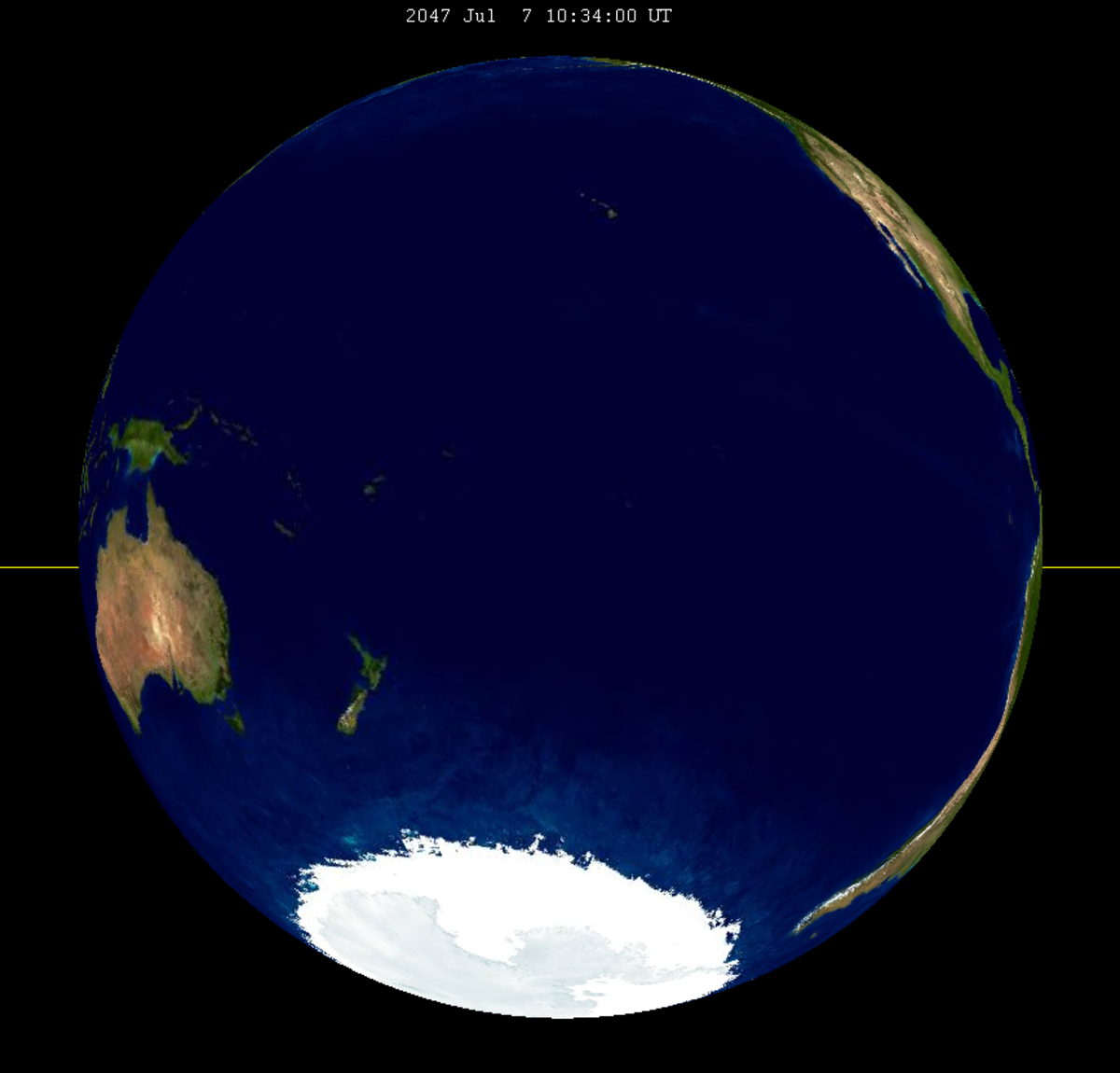 Lunar eclipse from moon-2047Jul07.png