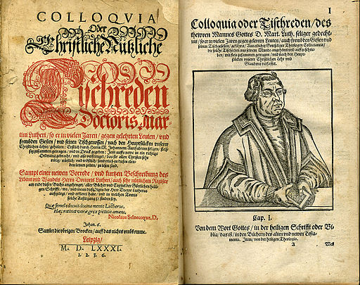 LutherWritings&Portrait1581