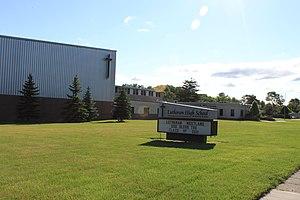 Lutheran High School Westland - Image: Lutheran High School Westland Michigan