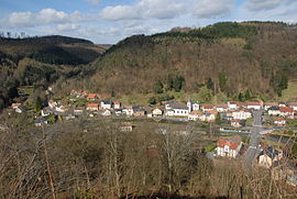 A general view of Lutzelbourg