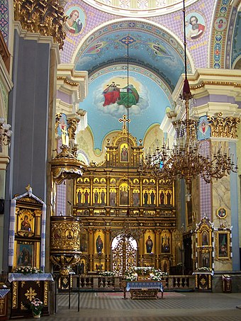 Inside the Church of the Transfiguration Lviv - Church of Transfiguration 01.jpg