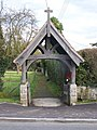 Lych gate on B2015 Maidstone Road - geograph.org.uk - 1200453.jpg