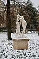 Méditation, statue de Tony Noël, jardin du Ranelagh, Paris 16e 5.jpg