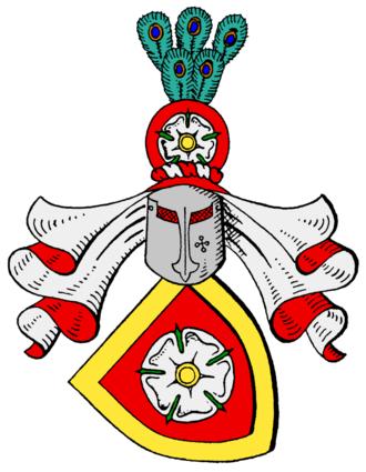 Müllenheim - The Müllenheim coat of arms (Rechberg line)