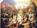 München, Neue Pinakothek, Wilhelm von Kaulbach, Zerstörung Jerusalems durch Titus.jpg