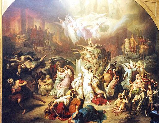 Wilhelm-von-Kaulbach-Zburzenie-Jerozolimy-przez-Tytusa