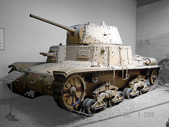 21st Waffen Mountain Division of the SS Skanderbeg - The division was supplied with captured Italian Carro Armato M15/42 tanks, but they proved to be unreliable.
