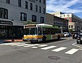 MBTA route 553 bus in Waltham, August 2017.jpg