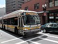 MBTA route SL4 bus in Chinatown, April 2017.JPG