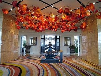 MGM Macau - Image: MGM Grand Macau Hotel Lobby Interior